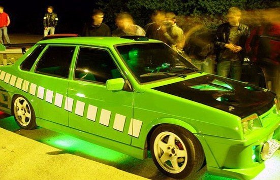 фото авто тюнинг русских